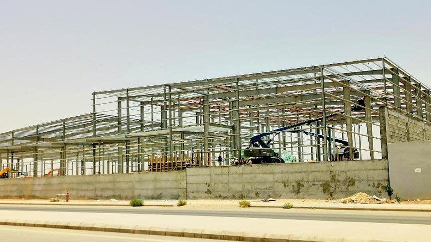 Zamil Steel supplies pre-engineered steel buildings to Maestro Pizza in Al Kharj