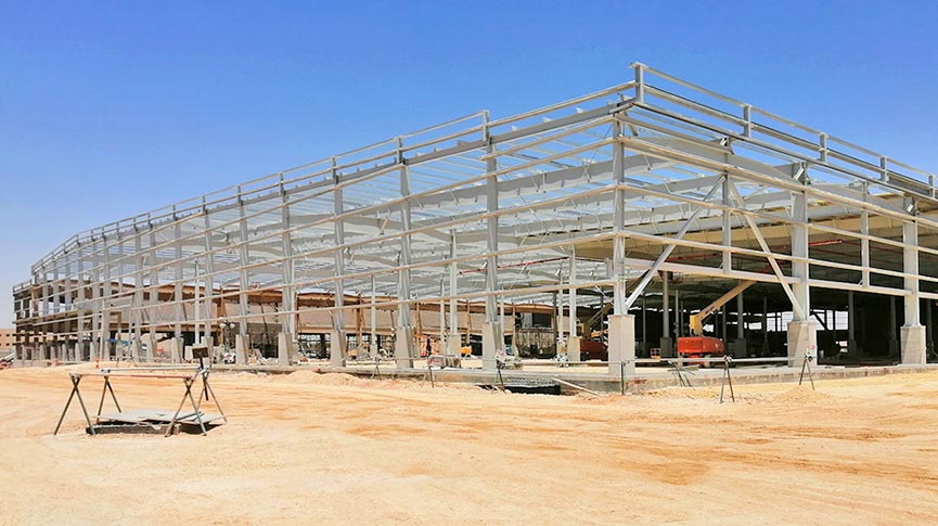 Zamil Steel supplies pre-engineered buildings for Saudia Cargo new terminal in Riyadh