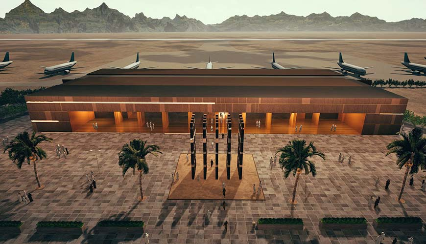 Zamil Steel has completed the supply of steel structures for Al-Ula Airport in western Saudi Arabia